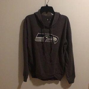 seahawks light hoodie